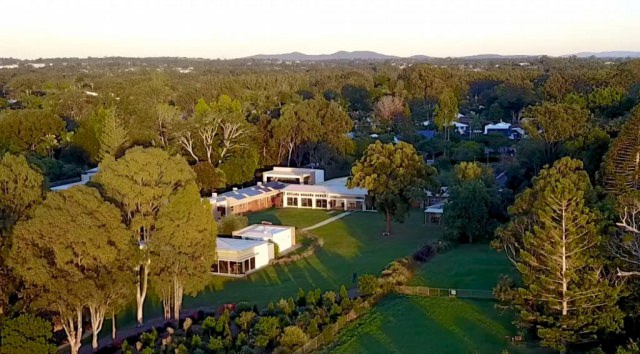 Aerial view of Santa Teresa Spirituality Centre