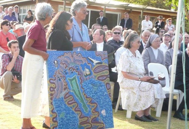 Indigenous elders at STSC opening