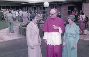 Opening of Cenacle Retreat Centre 1984