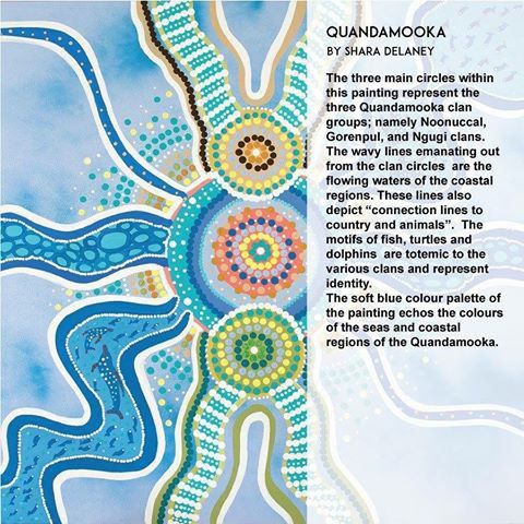 Quandamooka art